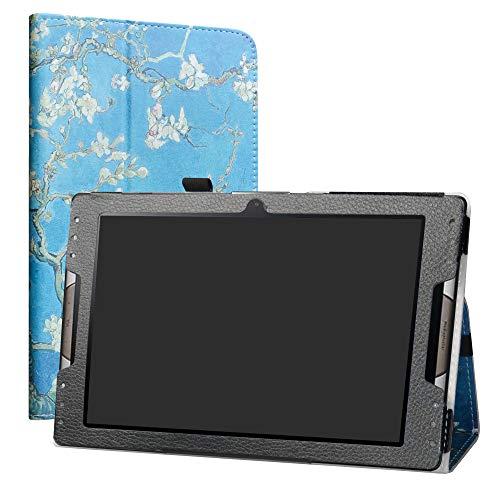 LiuShan Acer Iconia Tab 10 A3-A50 hülle, Folding PU Leder Tasche Hülle Case mit Ständer für 10.1