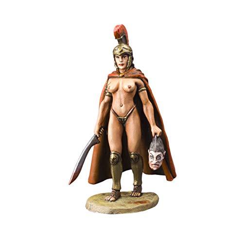 Ronin Miniatures - Greek Woman Warrior Toy Soldier - Tin Metal...