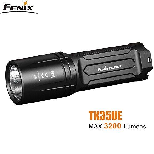 Tactical Taschenlampe FH-TK35 UE 2018 Ultimate Edition CREE XHP70 LED max 3200 Lumen 8 Arbeitsmodi, wiederaufladbar mit Halter, Ladekabel