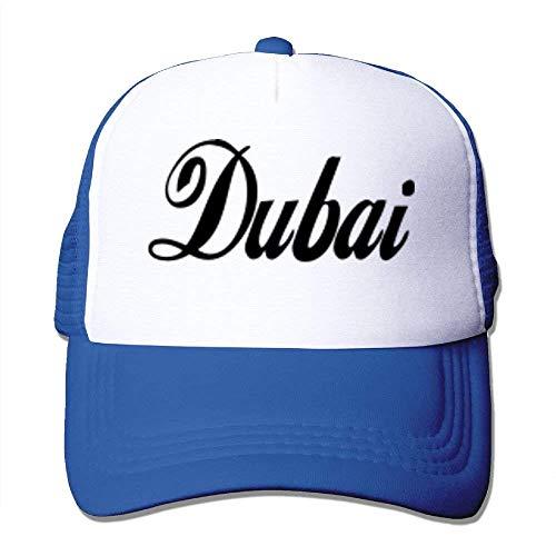 DAIAII Herren Baseball Caps,Hüte, Mützen, Classic Baseball Cap, Dubai Big Foam Mesh Truck Cap Mesh Back Adjustable Cap Black