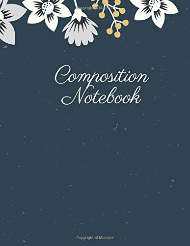 Composition Notebook: College Ruled Lined Journal Paper 120 Pages 8,5 X 11 Exercise Book . Cute Workbook for School or Home
