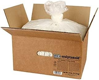Amaco 351257 Sculptamold Modeling Compound, 50 lb, White