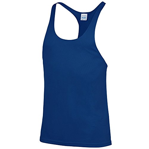 AWDis Just Cool - Camiseta sin Mangas/Tirantes de Deporte/Gym Modelo Muscle Hombre/Caballero...