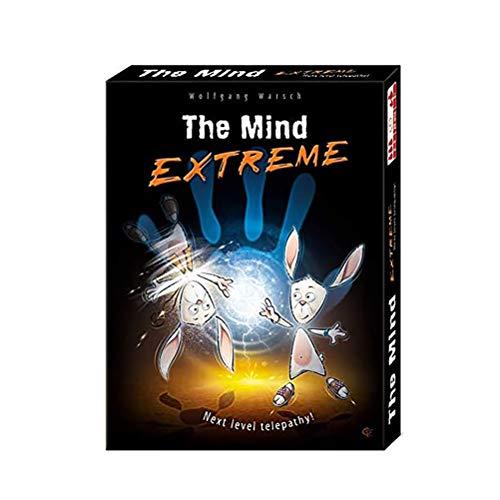BSTEle Juego de cartas The Mind Extreme para 2-4 jugadores, juego de...