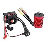 VGEBY1 RC Motor ESC, F540 Motor sin escobillas 3000KV / 4370KV y KS45A ESC Combo de Controlador electrónico de Velocidad para RC Coche(4370KV)