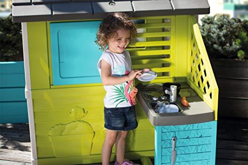 Pretty Spielhaus mit Außenküche (Smoby) - 11