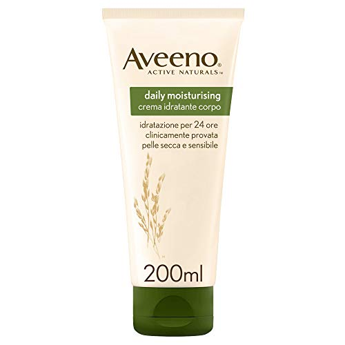Aveeno Daily Moisturising Lotion, Moisturises for 24 Hours, Body Lotion for Normal to Dry Skin Care, 200ml