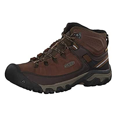KEEN Men's Targhee III Mid Waterproof High Rise Hiking Shoes