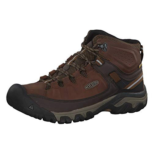 Keen Targhee Mid Waterproof Mens Boots Brown