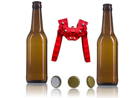 Nuevo Set Completo de Accesorios para la Fabricación de Cerveza Artesana (16...