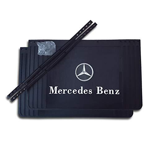 Trupa 2 x Schmutzfänger 650/600/550/500/450x400 Spritzlappen schneidbar/Spritzschutz -LKW Anhänger Mercedes