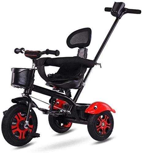 3-in-1 loopfiets, driewieler, schaalbaar, voor kinderen van 1 tot 3 jaar, voor baby's, meisjes, jongens, zadel en stuur, verstelbaar.