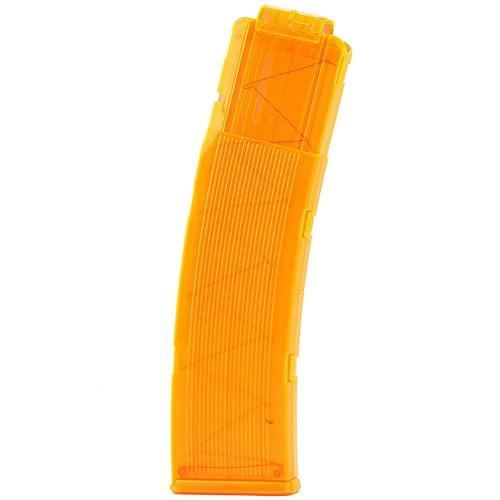Garosa 22 Dart Magazines Bullet Clips Eva Soft Magazintaschenhalter Holder Plastik für Munition Clip Kinder Spielzeug Weihnachten Geschenk(Orange)