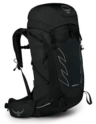 Osprey Tempest 30 Mochila de senderismo para Mujer, Negro (Stealth Black), Talla WXS/S