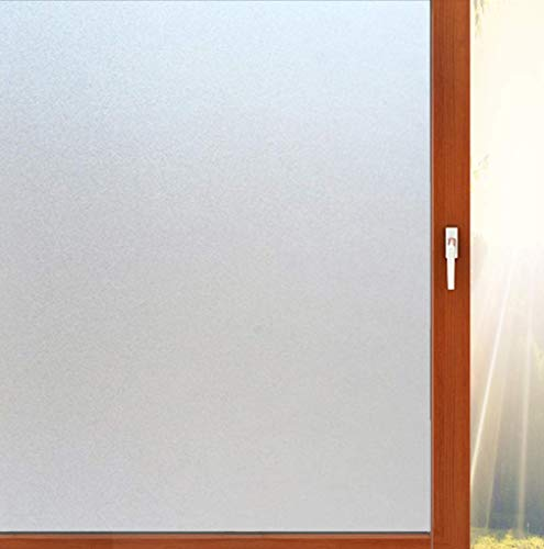 Aibily Privacy Adhesive Window Film,Frosted Glass Sticker for...