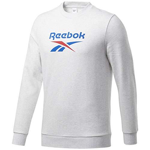 Reebok Męska bluza Cl F Vector Crew biały Whtmel XL
