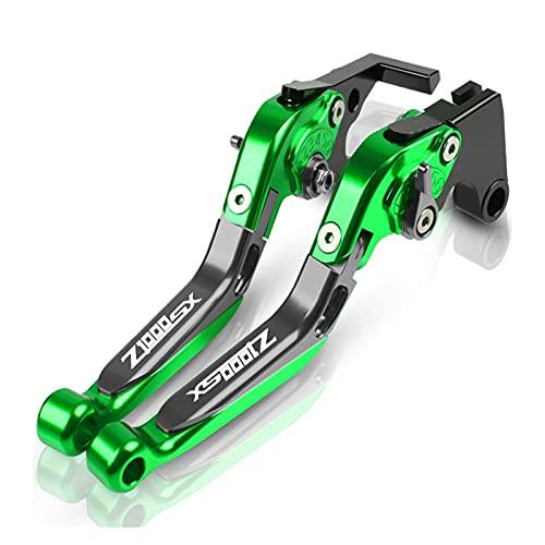 Embrague Palancas para KAW┐ASAKI Z1000SX Palanca Freno De Motocicleta Palancas De Embrague Freno Plegables Extensibles Ajustables Cubrepuños Pit Bike (Color : N)
