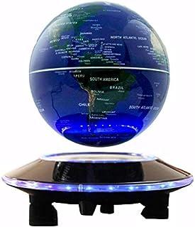 كرة ارضية ماغليف غلوب مع قاعدة مغناطيسية واضاءة ليد 6 انش مناسبة لديكور المكتب