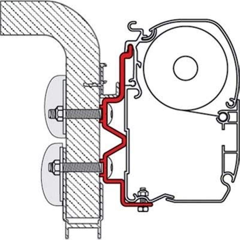 Fiamma F45 S – F45 L – Zip Adapter Adapter Adapter Hymercamp 400 B004NDTOBG  Sehr gute Klassifizierung cde963