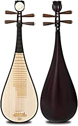 Professional Hardwood Chinese Lute Traditional National Stringed Instrument PiPa