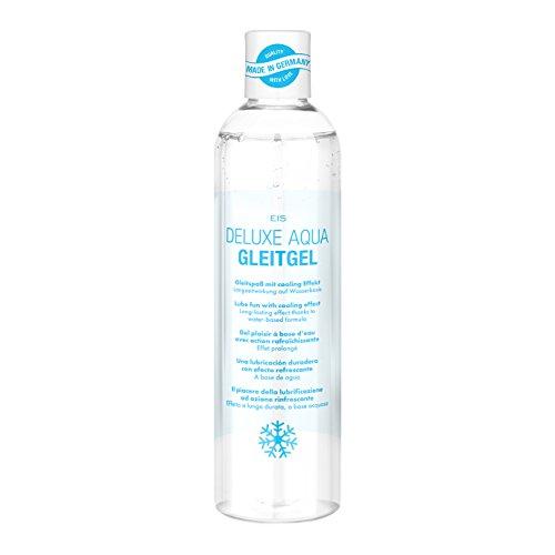 Deluxe Aqua Gleitgel von EIS, wasserbasierte Langzeitwirkung, kühlend, 300 ml