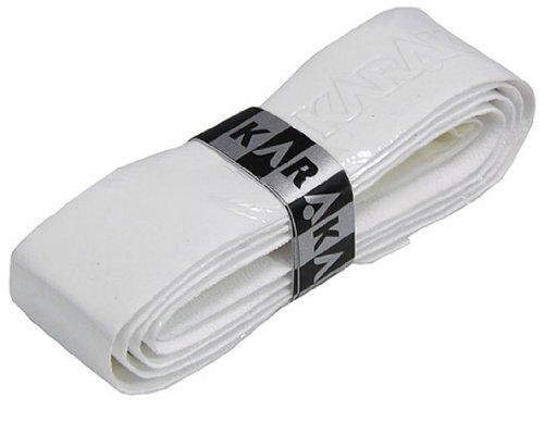Karakal PU Supergrip replacement racquet grip - tennis / badminton / squash - white x 6 by Karakal