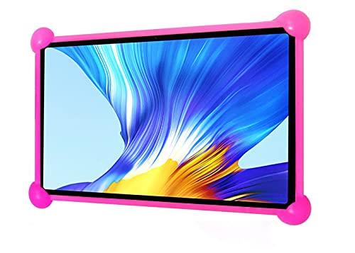 Funda Tablet 7 Pulgadas Universal Silicona Valida para Todas Las Tablets pc del Mercado de 7' Funda Tablet Universal 7 Pulgadas Fundas Tablet 7 Pulgadas universales (Rosa)