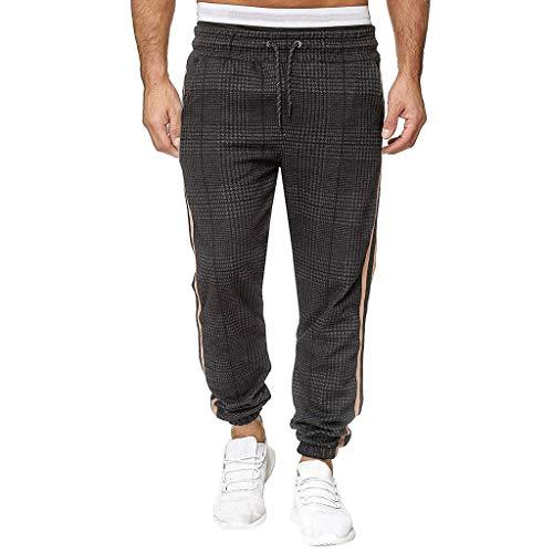 NUSGEAR 2021 Nuevo Pantalones Hombre Pantalones Casual Moda Deportivos Running Pants Jogging Pantalon Fitness Gym Slim Fit Impresión Largos Pantalones Ropa de Hombre Pantalones de Trekking vpass