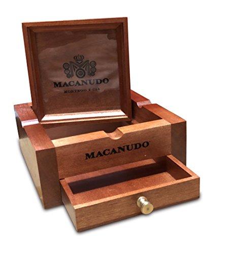 Macanudo Wooden Stash Box Ashtray