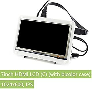 WaveShare 7inch HDMI LCD (C) (with Bicolor case) (11303)
