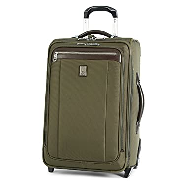 Travelpro Platinum Magna 2 Carry-On Expandable Rollaboard Suiter Suitcase, 22-in, Olive