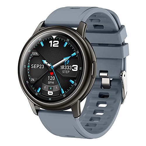 Reloj inteligente hombres 1 28 pantalla grande deportes pulsera reloj inteligente adecuado para Android IOS-C