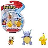 Pokemon Battle 3 Pack – Wartortle, Pikachu & Cubone