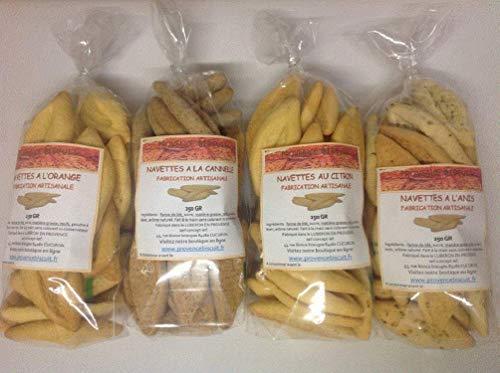 Assortiment de navettes provençale 1 kg. sortiment handwerklicher kekse 1 kg