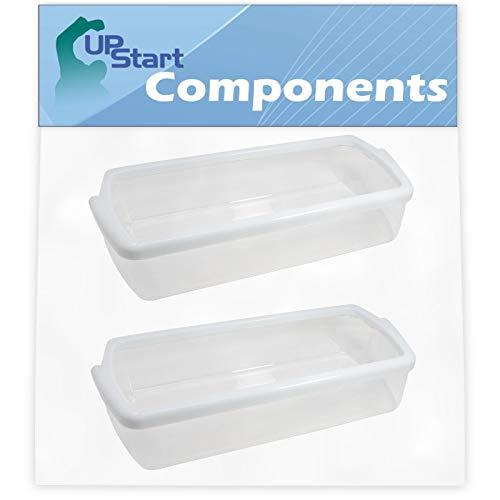 2-Pack W10321304 Refrigerator Door Bin Replacement for KitchenAid KSRV22FVMS03 Refrigerator -...