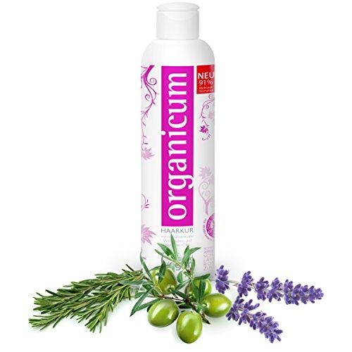 organicum Haarkur (250ml) vegane Haarmaske und Repair-Pflege mit Hydrosol