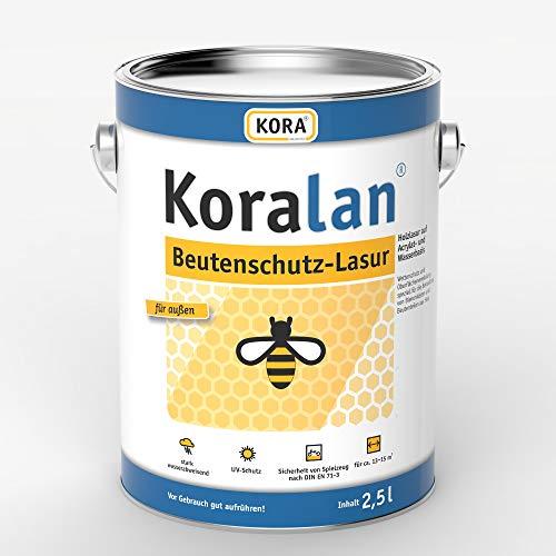 Koralan Beutenschutz Lasur Bienen Farbe Kiefer 2,5L