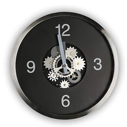 Casablanca Uhr Gear,schwarz/Silber,Met/Glas