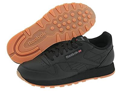 Reebok Lifestyle Classic Leather (Black/Gum) Men