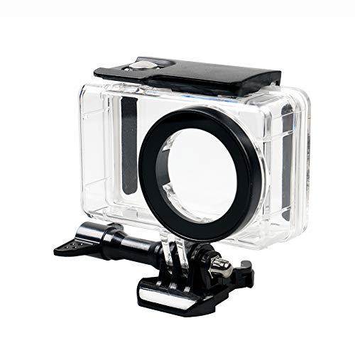 prettDliJUN Waterproof Housing Beach Summer Ocean Protective Case Cover for Xiaomi Mijia 4K Mini Action Camera