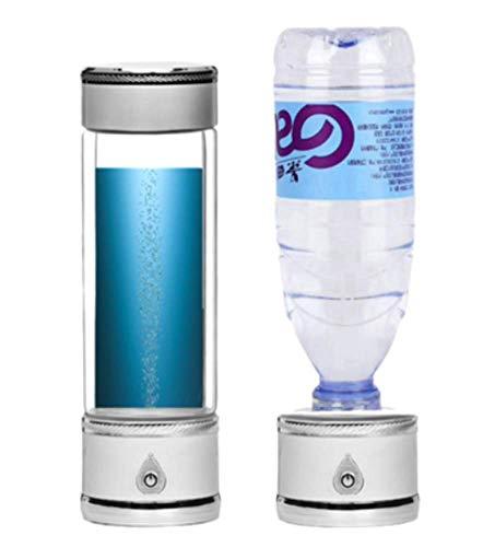 CEXTT Botella de Agua del generador de hidrógeno portátil,