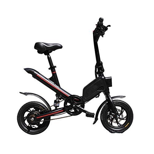 Joyfitness 12 Pulgadas Bicicleta eléctrica Plegable Mini-Drive Bicicletas 350W de Dos Ruedas...