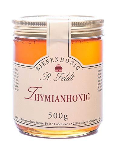 Thymian Honig, wilder Thymian, aus alpiner Region, sehr aromatisch, kaltgeschleudert, unfiltriert, 500g