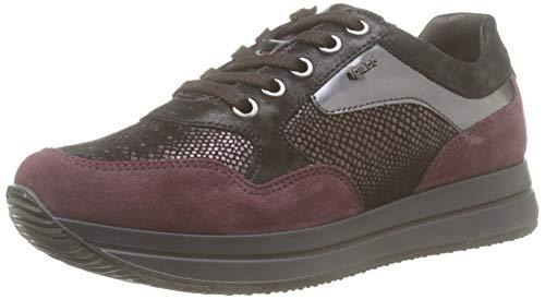 IGI&CO Donna-41450, Sneaker Donna, Marrone (T.Moro/Bordo 4145044), 41 EU