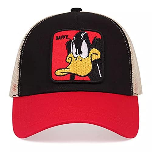 QiuFeng Gorra béisbol Sun Hat Gorra de béisbol de Pato Gorra de Camionero de Malla Transpirable sombrilla para Exteriores Gorra Deportiva de Golf Sombreros para Mujer Sombreros para Hombre Regalos