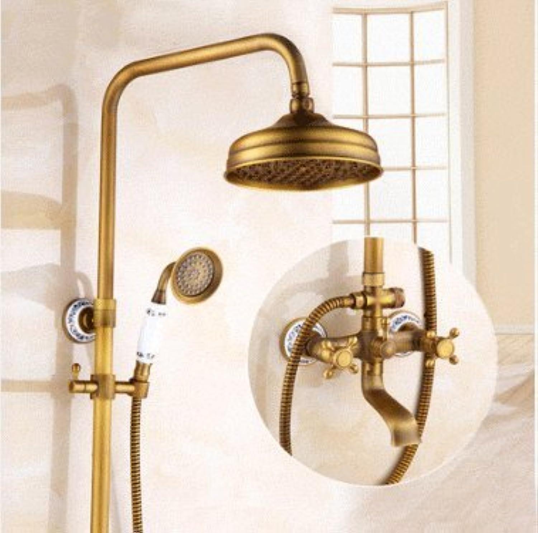 Suhang Dusche Dusche Dusche Antik Booster Dusche alle Kupfer Dusche, Mehrfarbig