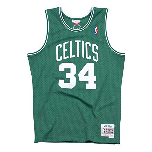 Mitchell & Ness Paul Pierce #34 Boston Celtics 2007-08 Swingman NBA Trikot Grün, XL