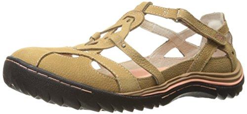Jambu Women's Spain Walking Shoe, Oatmeal, 8 M US