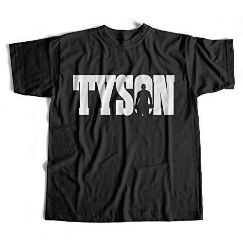 Dibbs Ropa Tyson Boxeo Camiseta/Boxeo Camiseta/Gimnasio Top/Varios Colores/Personalizado/Campeonato Boxeo/Campo de Entrenamiento