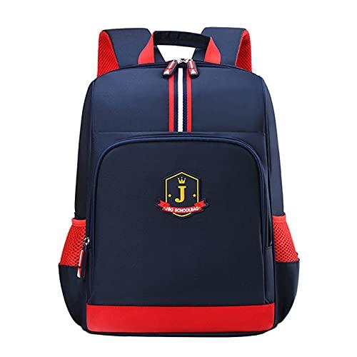 Bolsa de la escuela Niños Inglaterra Estilo Mochilas Escuela Bolsas Para Niños Bagpack Pupila Estudiantes Hombre Impermeable Mochila Niños Bolsa
